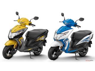 Honda Dio scooter 2018