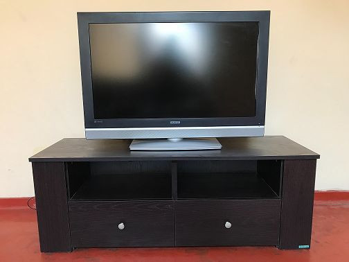 38-flat-screen-tv-with-large-tv-stand-with-drawers-and-shelves-big-0