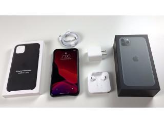 Brand New Original Unlocked Apple iPhone 11 pro max 256GB