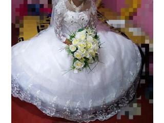 Bridal frock