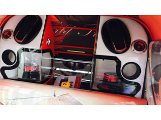 Three Wheeler Audio Setup