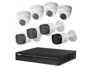 6Ch CCTV Full Package With Installation