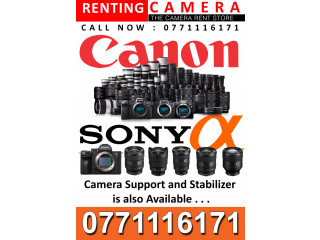 Renting Camera  All Camera Retails