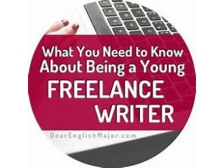 Freelance Writers (English) - Offered