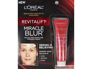 L'Oreal Paris Revitalift Miracle Blur Instant Skin Smoother Travel Size 0 - For Sale