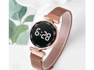 Ladies LED Rose Gold Watch