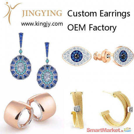 custom-earrings-gold-plated-silver-jewelry-supplier-and-wholesaler-for-sale-big-0