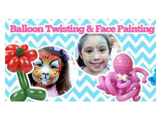 Hi we have part time jobs for balloon modelers and face painters and we give free training from tomorrow till 17/9/14 - For Sale by Kate Moss