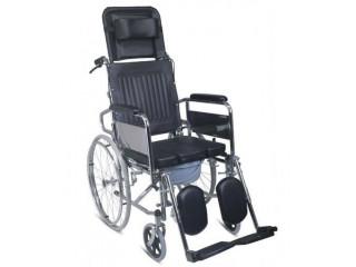 Luxury type commode Wheel chair