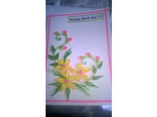 Handmade Greeting Cards/Birthday cards