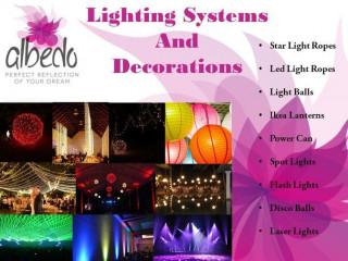 Light Decors and Lighting by Albedo
