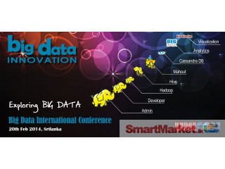 Big Data Innovation Conference - Colombo - For Sale