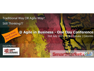 Agile In Business Conference - For Sale