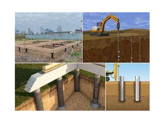 Tube Well and Concrete Pile