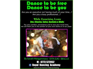 Learn to dance - Private classes for busy professionals in and around Colombo