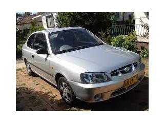 Hyundai Accent automatic 2000