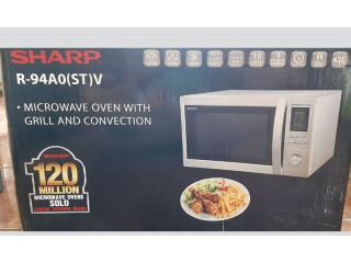 Sharp Microwave And Oven With Grill