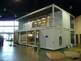 Container Office House / Villa Shop And Restaurant
