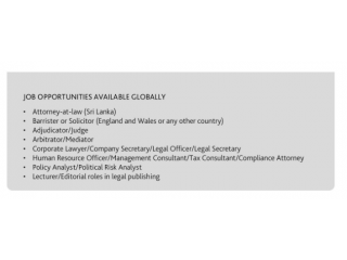 Law Degree Courses in Sri Lanka